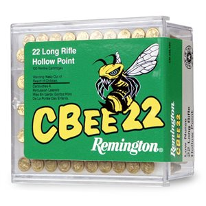 CBEE22 REMINGTON 22 LONG RIFLE HOLLOW POINT