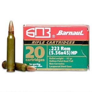 BARNAUL .223REM 62GR HP 20CART.