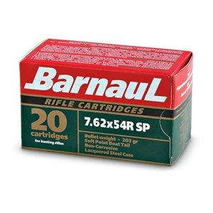 BARNAUL MUNITION 7.62X54R SP 203 GR