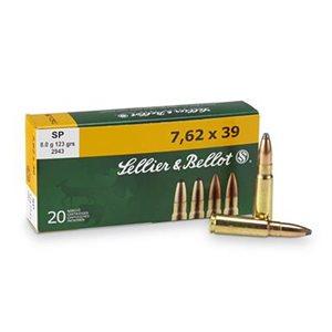 SELLIER & BELLOT 7.62X39 124GR 8G