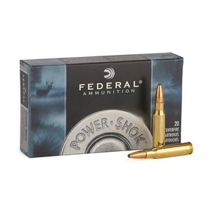 FEDERAL 300 WIN SHORT MAG 180G SOFT POINT 20 CENTERFIRE CRTG
