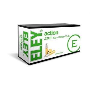 ELEY ACTION .22LR 40GR. 1090FPS 50RDS