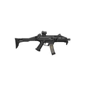 CZ SCORPION EVO 3 S1 C.9MM 5 RD WITH STOCK BLK