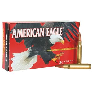 AMERICAN EAGLE 30 CARBINE 110 GRAIN FULL METAL JACKET