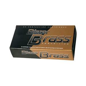 BLAZER BRASS 40 S&W165 GRN FMJ