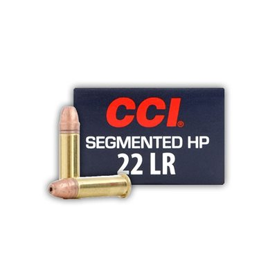 CCI .22LR SEGMENTED HOLLOW POINT 32GR.VARMINT