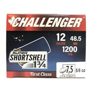 CHALLENGER SUPER SHORTSHELL 1 3 / 4 12GAUGE