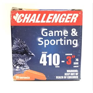 "CHALLENGER MUNITION 410 CAL 3"" NO 4"