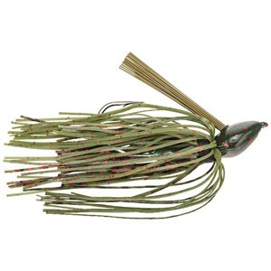 DB BABY STRUCTURE JIG RED FLAKE GREEN 3 / 8OZ