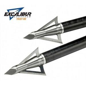 EXCALIBUR BROADHEAD 150GR 3-BLADE 3 PK