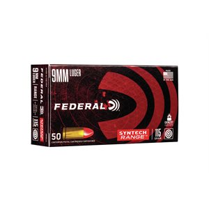 FEDERAL AMERICAN EAGLE 9MM LUGER 115 GRAINS