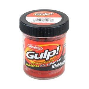 BERKLEY GULP RED WIGGLER 1.8OZ EXTRUDED