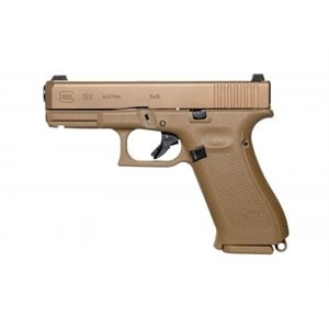 GLOCK G19X US HGA 9MM 106MM BBL GNS 3 / 10RD MAG COYOTE BROWN