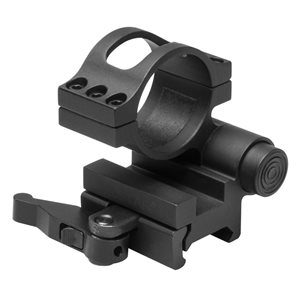 NCSTAR FLIP TO SIDE MOUNT 30 MM QUICK REMOVE