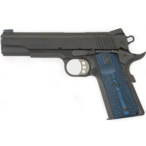 COLT 1911 MOD O GOVERNMENT COMPETITION SERIES 45ACP 5'' BLUE