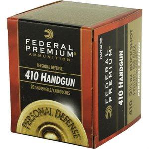 FEDERAL PREMIUM 410 HANDGUN 2 1 / 2IN BUCKSHOT