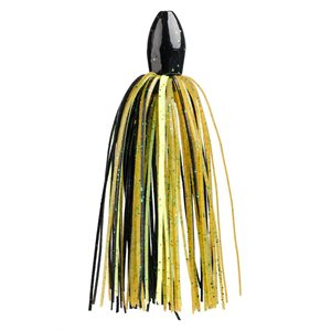 TOUR GRADE TUNGSTEN SLITHER RIG 1 / 2OZ YELLOW / BWN / BLK