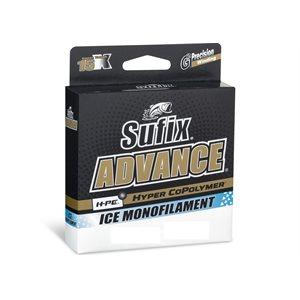 FIL DE PECHE SUFIX ADVANCE HYPER COPOLYMER ICE MONOFIL. 3LB