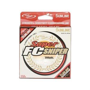 SL SUPER FC SNIPER 200 YD 6 LB NATURAL CLEAR